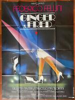 Plakat Ginger Und Fred Federico Fellini Marcello Mastroianni G.Masina 120x160cm