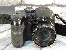 GE Power Pro Series X500 16.0MP Digital Camera With 15X Optical Zoom - Black