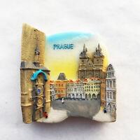 Czech capital Prague Frisge Magnet Refrigerator Sticker Old Town Square Souvenir