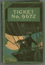 Ticket No. 9672 by Jules Verne First US Edition