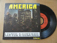 "DISQUE 45T  DE LESTER & DENWOOD   "" AMERICA  """