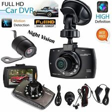 "2.7"" 1080P HD Dual Lens Car Auto DVR Video Recorder Dash Cam Camera Night Vision"