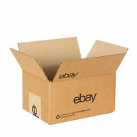 "eBay-Branded 100 Boxes With Black Color Logo 8"" x 6"" x 4"""