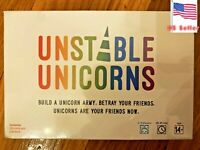 Unstable Unicorns Card Game - A Strategic Card Game Party Game for Adults & Teen