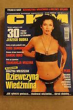 CKM 12/2001 Grażyna Wolszczak from WITCHER MOVIE , Britney Spears,