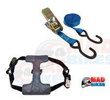 Motorrad Transport Krawatte unten Ratschengurt System Reifen Fix, Van,Anhänger,