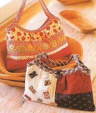 New Handbag Purse Tote Pattern 9H X 14W