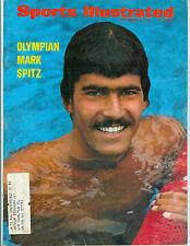 MARK SPITZ SPORTS ILLUSTRATED MAGAZINE SEPTEMBER 4, 1972