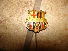 Vintage Barcelona F.C. soccer stick pin badge.