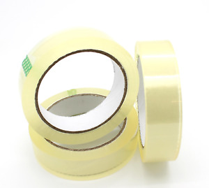 CLEAR STRONG TAPE PACKAGING ROLLS PARCEL PACKING SELLOTAPE 18mm x40m CELOTAPE