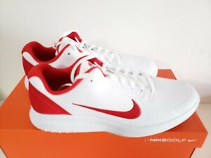 Nike Golf Infinity G Spiked Size 11 White-University red' CT0531-103. New