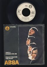 ABBA  - Take a Chance On Me - Thank You For The Music 7 Inch Vinyl - YUGOSLAVIA