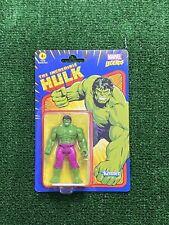 "Incredible Hulk 3.75"" Kenner Marvel Legends Retro  Action Figure New NIB"