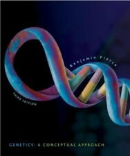 Genetics : A Conceptual Approach by Benjamin Pierce 3rd Ed. w/ Solutions Manual
