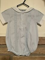 Vintage Feltman Brothers Bros Sailor 3 Month Baby Outfit Boy