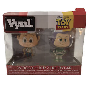 Funko pop Vynl  Disney Pixar Toy Story Woody And Buzz Lightyear Collectibles NEW