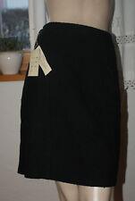 Neu! Schwarzer Tweed * Bouclé Rock Minirock Winterrock Gr.36