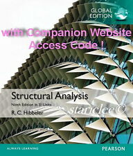 NEW 3 Days AUS Structural Analysis 9E Russell C. Hibbeler (Mixed Media Product)