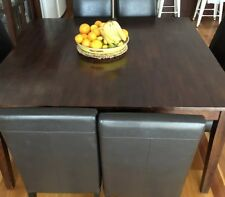 Teak Timber Dining Table (Chairs Not Included)