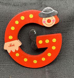 Sevi wooden Clown Alphabet Letters