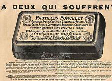 PASTILLES PONCELET PUBLICITE IMAGE 1902