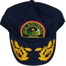 Official ALIEN USCSS NOSTROMO Crew Patch Navy Baseball Cap Hat Loot Crate