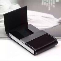 Pocket Business ID Credit Card Wallet Holder Case For Women Mens Cardcase
