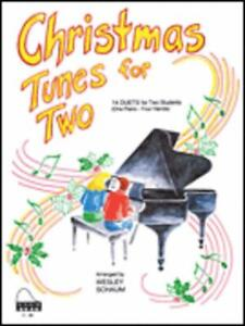 Christmas Tunes for Two MUSIC BOOK PIANO DUET EARLY INTERMEDIATE NEW ON SALE