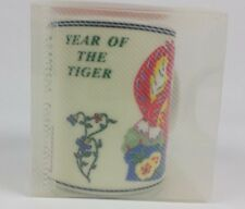 Chinese Zodiac Year Of The Tiger Coffee Tea Mug Ceramic White Red New In Box