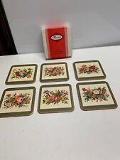 Box Of Vintage Pimpernel Coasters