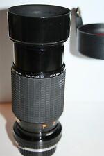 SIGMA ZOOM K 2 LENS for OLYMPUS 1:45 f=70 - 210mm MULTI-COATED Case Hood Caps