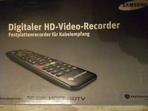 Samsung Digitaler HD Kabel Recorder 320 GB  SMT-C7200320, Fernbedienung