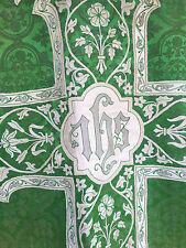 Chape Chasuble Liturgique Broderie Prêtre Aube Ancien 21 et ses éléments