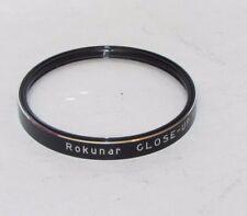 Used Rokunar Close - Up No. 2 Ser. VI (series Six)  6 35mm Lens Filter  O32746