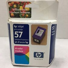 HP Inkjet #57 Tri-color Inkjet Print Cartridge, NIB