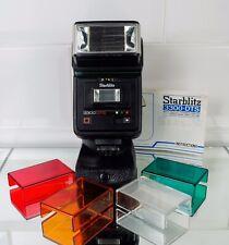 Starblitz 3300 DTS. dedicado para Olympus, Nikon, Canon, Minolta. totalmente Funcional