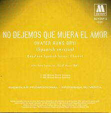 "BOYZ II MEN ""NO DEJEMOS QUE MUERA EL AMOR"" SPANISH PROMO CD SINGLE / BABYFACE"