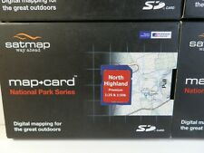 """SATMAP 1:50k & 1:25k National Park Series"""" Various SD cards for Active 10 & 12"""