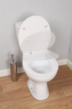 CROYDEX SENSORI Automatic Soft Self Closing TOILET SEAT White NEW
