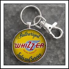 Vintage Whizzer Sales Service Sign Photo Keychain Great Gift 🎁🛵🛵🛵🛵🛵🎁🎁