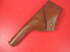 pre-WWI US Army Regulation Leather Holster for Colt & S&W .38 DA Revolver- Repro