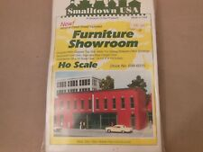 HO SCALE RIX/SMALL TOWN USA 699-6015 FURNITURE SHOWROOM STRUCTURE KIT