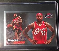 2009-10 PANINI NBA LEBRON JAMES #68 RARE FOIL SP STICKER CARD CAVALIERS SWEET!!