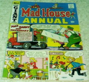 Mad House Annual 8, VF/NM (9.0) 1970 Archie, Sabrina story!, 50% off Guide!