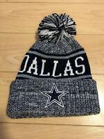 New NFL Dallas Cowboys Navy Fleece lined Sport Knit Winter Hat field beanie