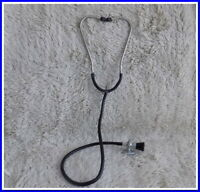 Vintage Stethoscope Old Medical Device Doctor~metal,Tubes,bakelite