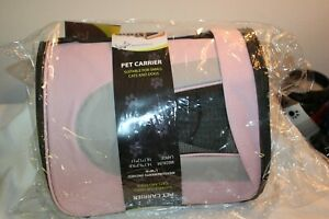 Airline Approved Folding Collapsible Zippered Sporty Mesh Pet Dog Carrier Bag