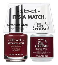 IBD it's a Match Avanzado ROPA DUO Just Gel & Pulir BRANDY Vino 65354