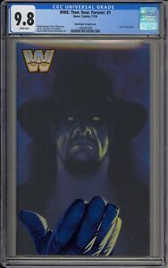 WWE: THEN. NOW. FOREVER #1 - CGC 9.8 - UNDERTAKER VARIANT - 1465507040