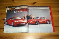 Autozeitung 25826) Porsche 911 993 Targa mit 285PS besser als...?